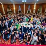 CNY dinner group photo