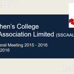 SSCAA AGM Cover
